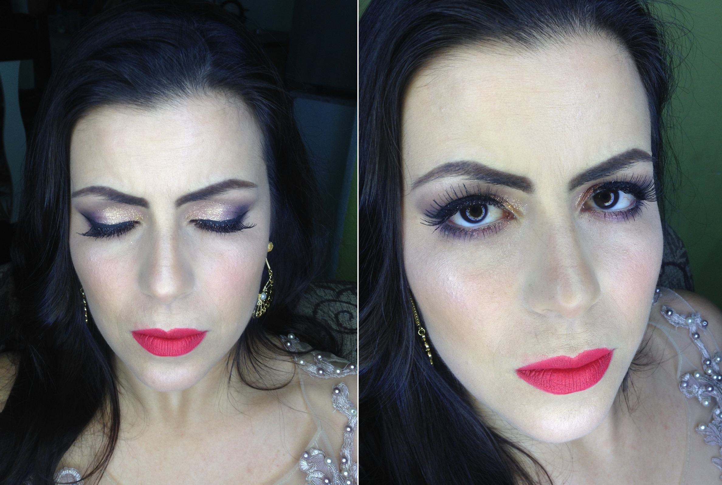 Maquiagem para madrinha de casamento - Instagram @geisamedeirosmakeup #MakeUp #InstaMake #Maquiagem #MaquiagemDeFesta #MaquiagemProfissional #MaquiagemSocial #MaquiagemNoiva #GeisaMedeirosMakeUp #PPF #PausaParaFeminices #Vult #VultCosmética #Bitarra #MaryKay #RubyRose #Luisance #Dailus #QuemDisseBerenice #Contém1g #Morphe #PincéisMacrilan #LuFerraes #Mac maquiagem maquiador(a) designer de sobrancelhas