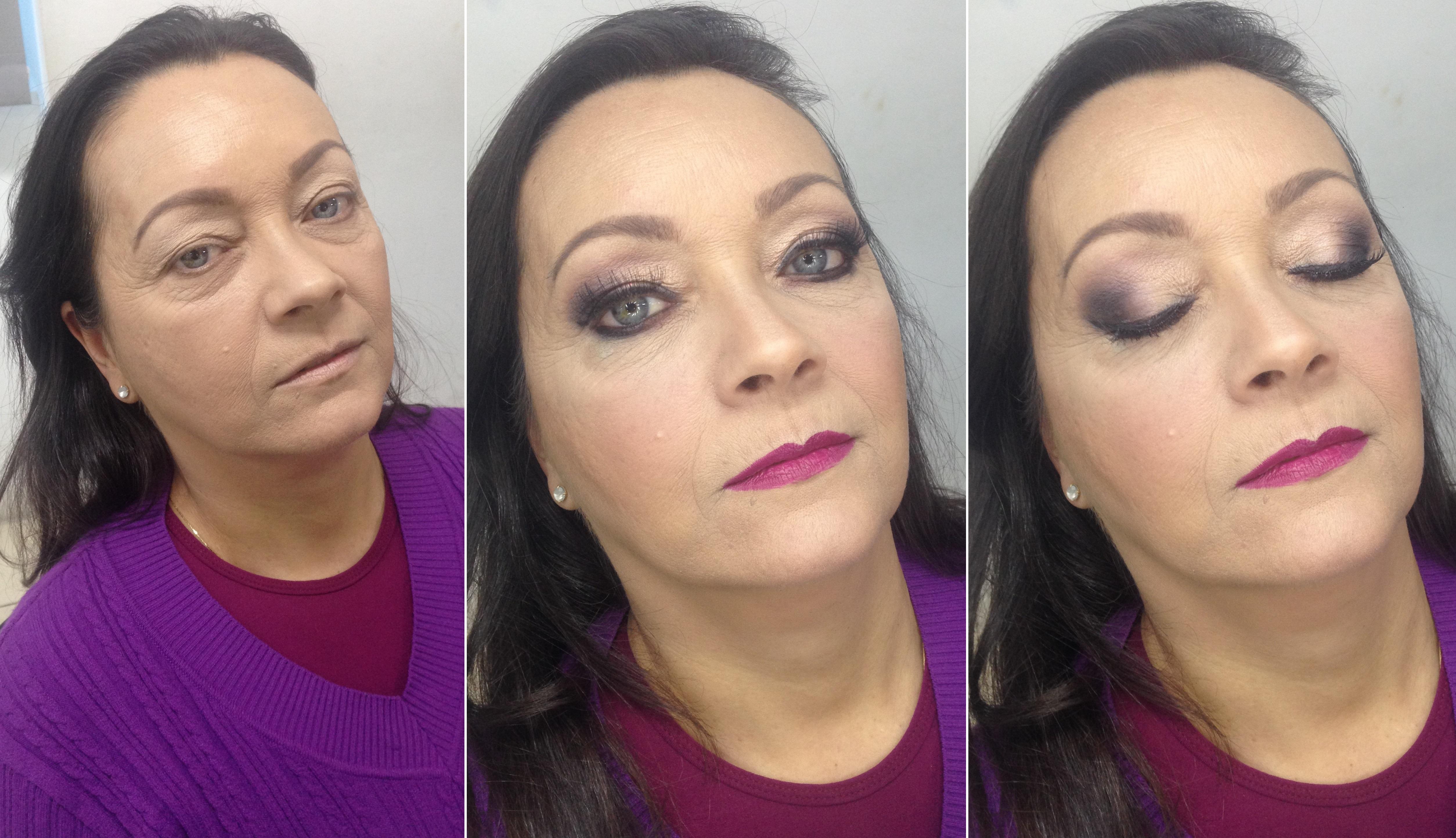Maquiagem pele madura, esfumado na diagonal - Instagram @geisamedeirosmakeup #MakeUp #InstaMake #Maquiagem #MaquiagemDeFesta #MaquiagemProfissional #MaquiagemSocial #MaquiagemNoiva #GeisaMedeirosMakeUp #PPF #PausaParaFeminices #Vult #VultCosmética #Bitarra #MaryKay #RubyRose #Luisance #Dailus #QuemDisseBerenice #Contém1g #Morphe #PincéisMacrilan #LuFerraes #Mac maquiagem maquiador(a) designer de sobrancelhas
