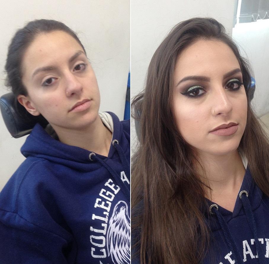 Antes e depois maquiagem para festa - Instagram @geisamedeirosmakeup #MakeUp #InstaMake #Maquiagem #MaquiagemDeFesta #MaquiagemProfissional #MaquiagemSocial #MaquiagemNoiva #GeisaMedeirosMakeUp #PPF #PausaParaFeminices #Vult #VultCosmética #Bitarra #MaryKay #RubyRose #Luisance #Dailus #QuemDisseBerenice #Contém1g #Morphe #PincéisMacrilan #LuFerraes #Mac maquiagem maquiador(a) designer de sobrancelhas