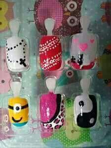 Nail Art unha manicure e pedicure estudante (manicure)