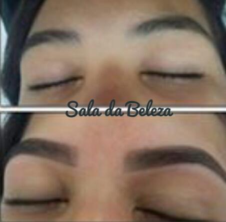 Designer de Sobrancelhas antes e depois do procedimento  outros esteticista designer de sobrancelhas depilador(a)