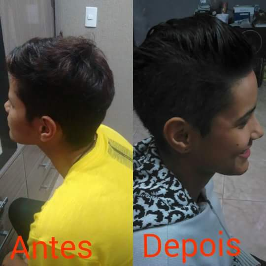 corte feminino + Progressiva  cabelo auxiliar cabeleireiro(a)