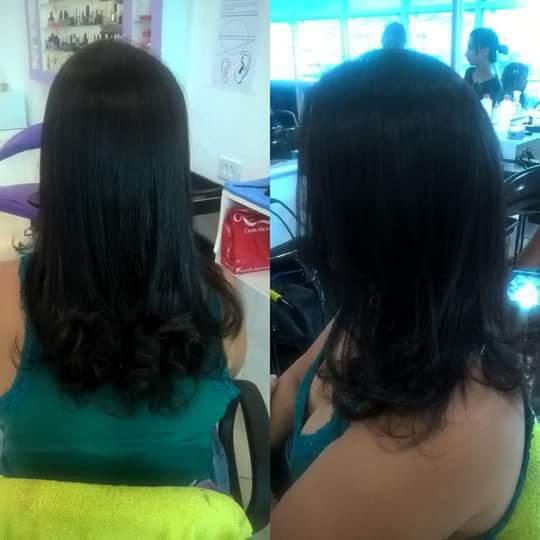 Botox + corte cabelo auxiliar cabeleireiro(a)