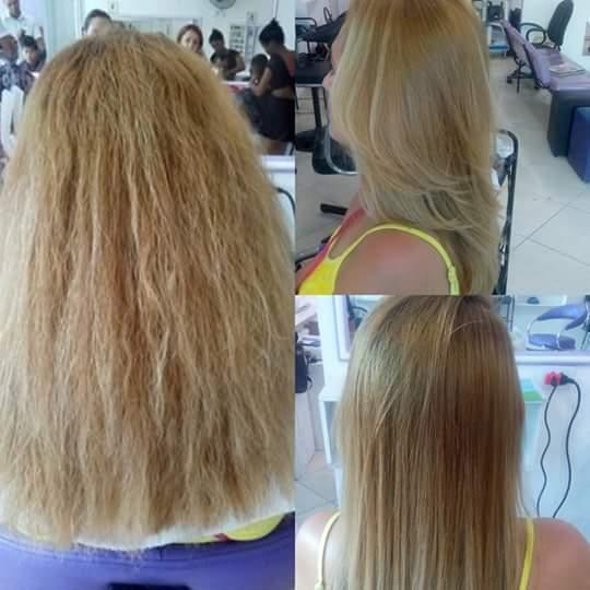 Progressiva  cabelo auxiliar cabeleireiro(a)
