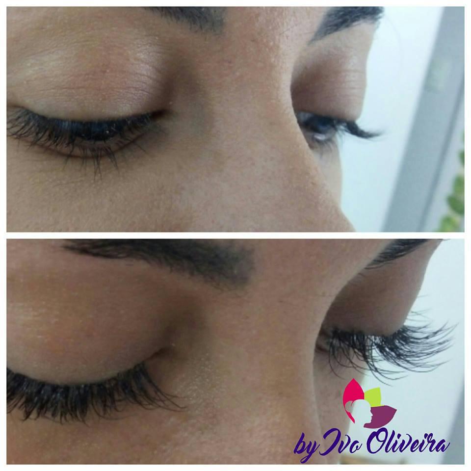 Alongamento de Cilios fio a fio maquiagem cabeleireiro(a) escovista dermopigmentador(a) designer de sobrancelhas maquiador(a) micropigmentador(a)