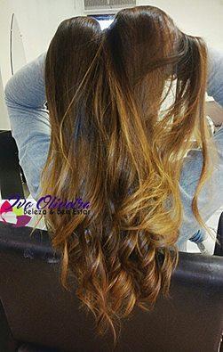 Ombrè Hair cabelo cabeleireiro(a) escovista dermopigmentador(a) designer de sobrancelhas maquiador(a) micropigmentador(a)