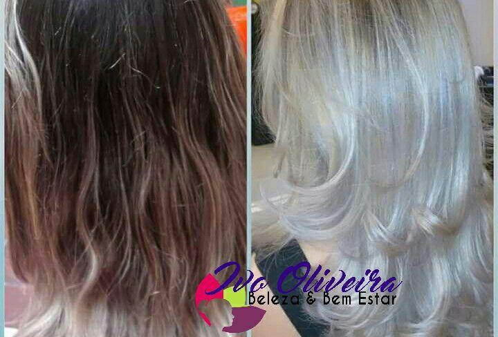 Cabelo Platinado cabelo cabeleireiro(a) escovista dermopigmentador(a) designer de sobrancelhas maquiador(a) micropigmentador(a)