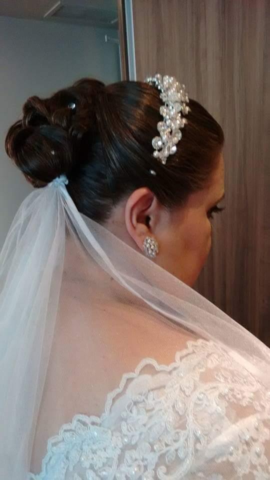 #penteado e #make para #noiva cabelo cabeleireiro(a) maquiador(a)