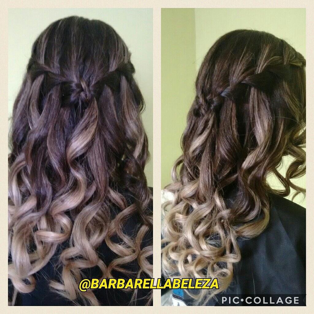 #penteado para #formatura cabelo cabeleireiro(a) maquiador(a)