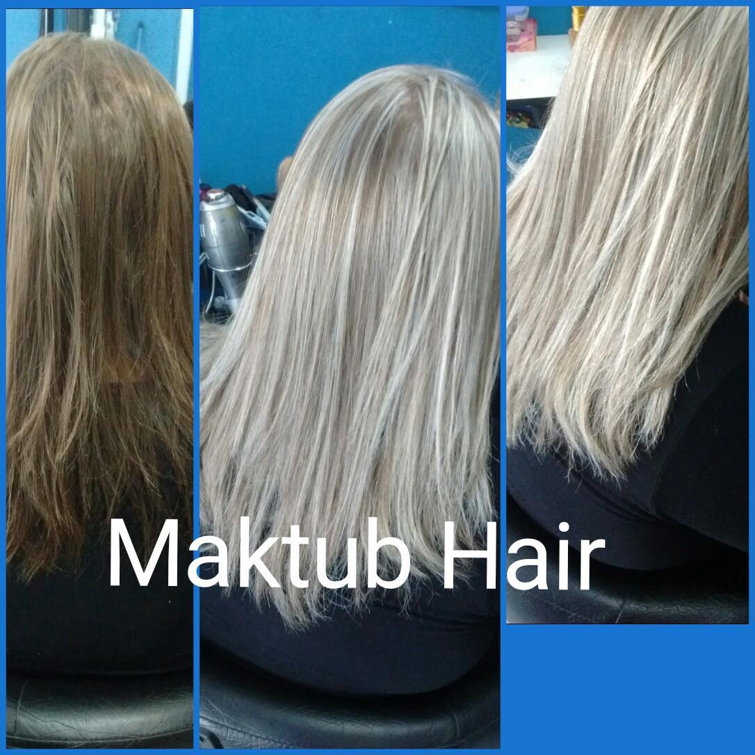 Luzes, tonalização, matização e reconstrução cabelo cabeleireiro(a)