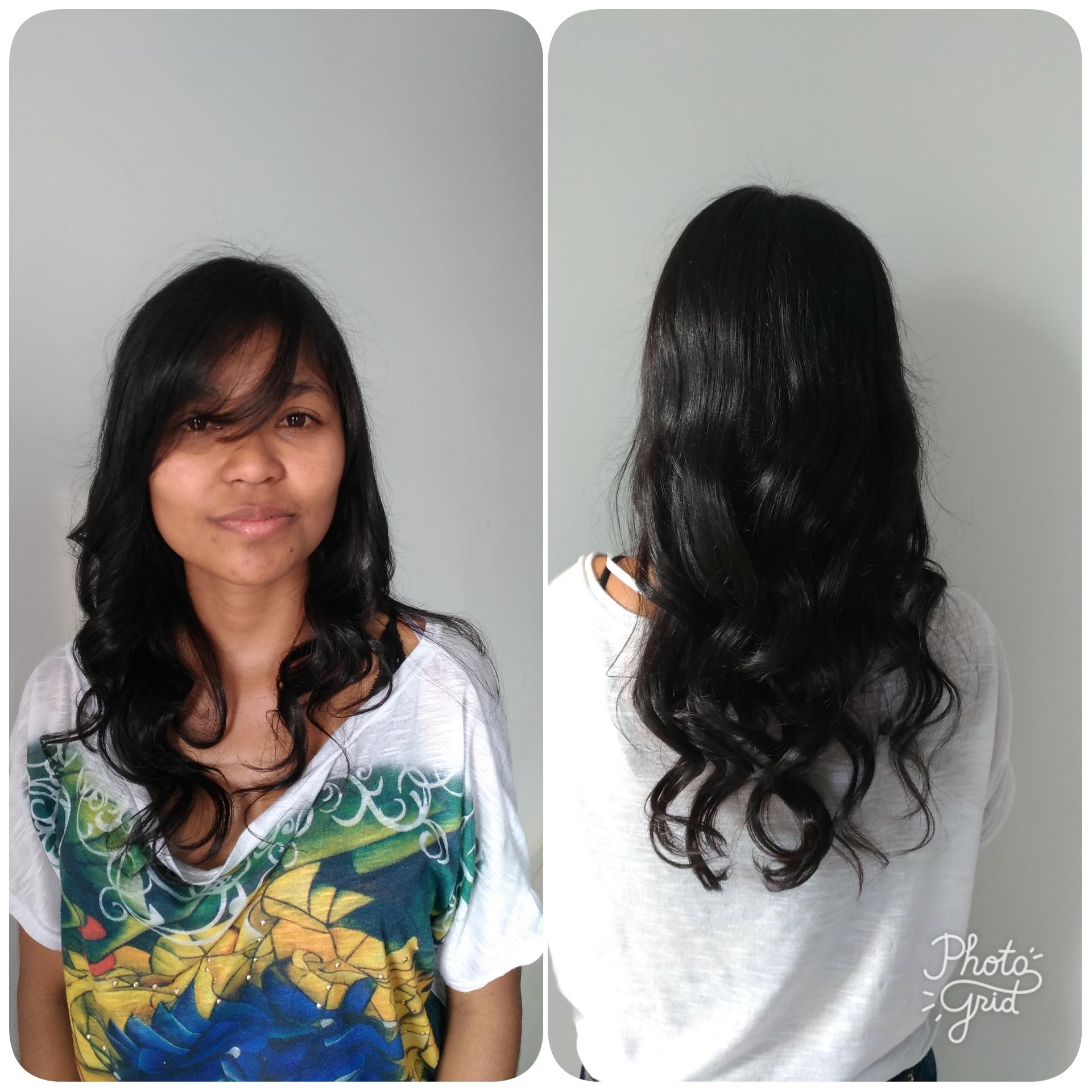#escova #modelador cabelo auxiliar cabeleireiro(a) manicure e pedicure