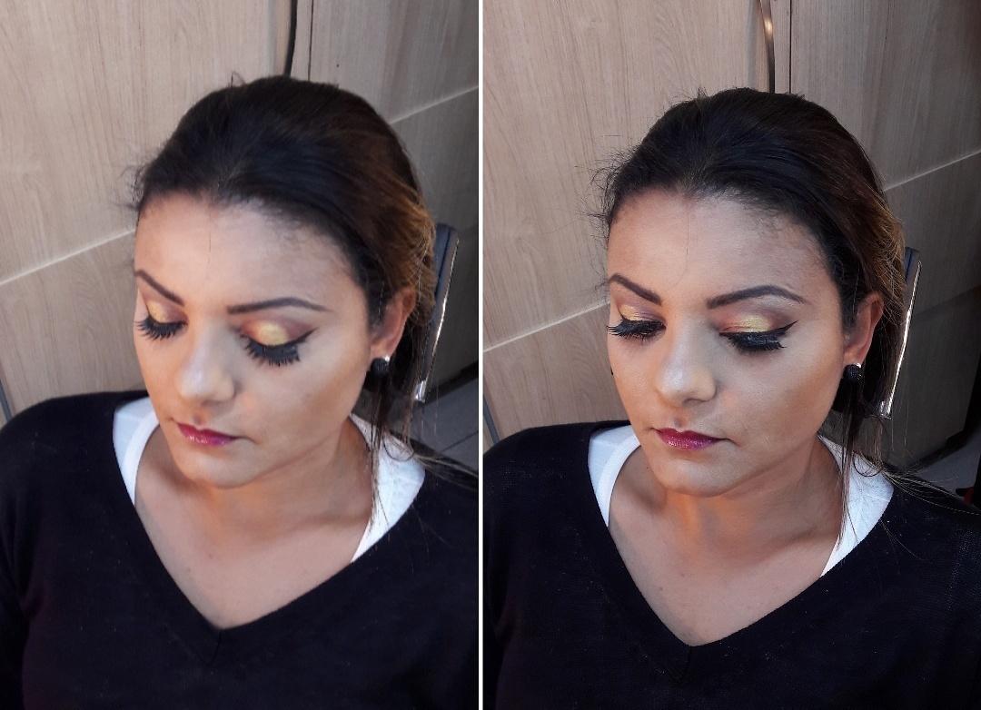 Pálpebra Luz maquiagem