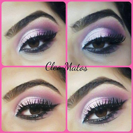 Make Olhos Semi Cut Crease maquiagem maquiador(a)