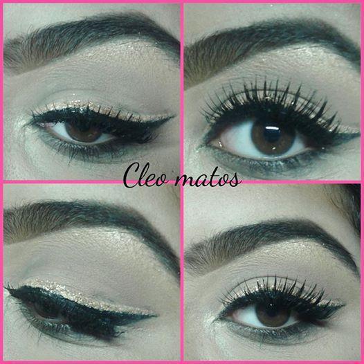 Make Delineado Duplo com Gliter maquiagem maquiador(a)