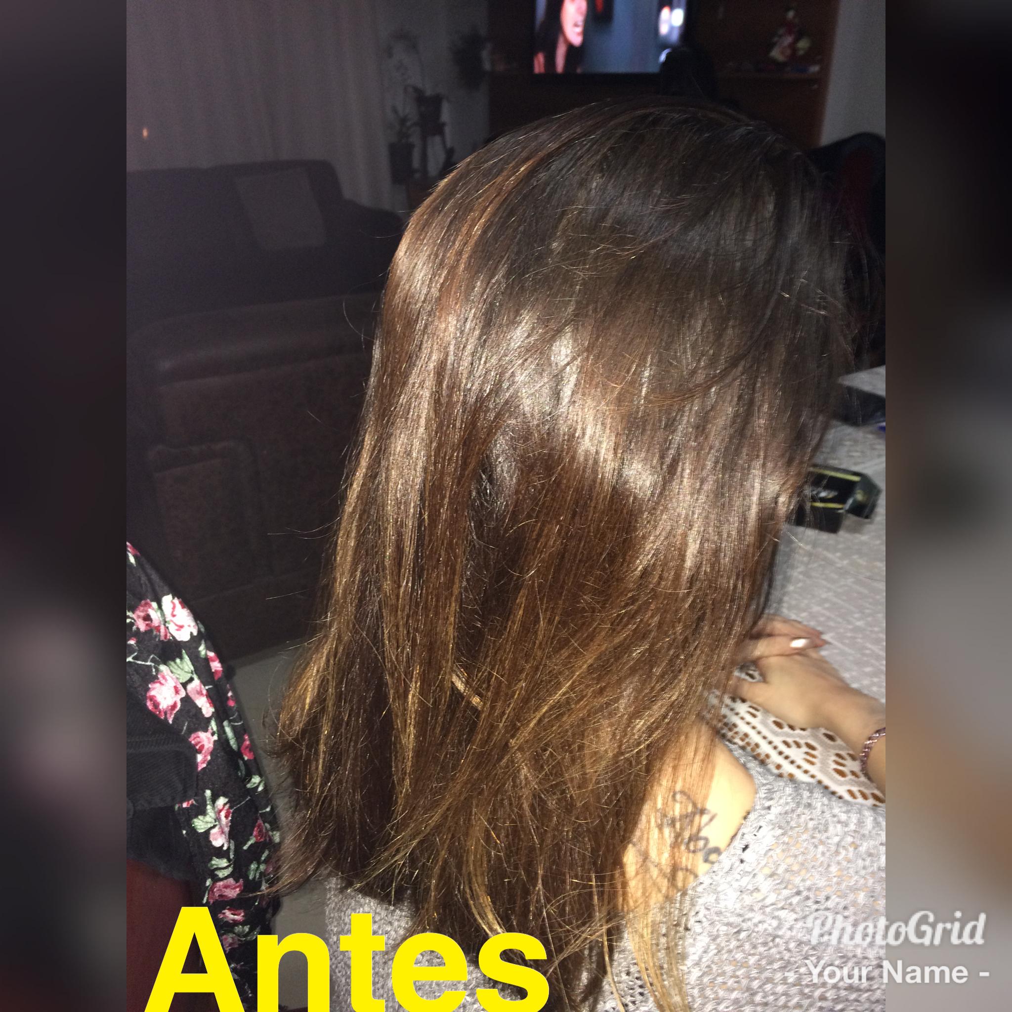 Cliente deseja a mudança da tonalidade do cabelo!   cabelo auxiliar cabeleireiro(a)
