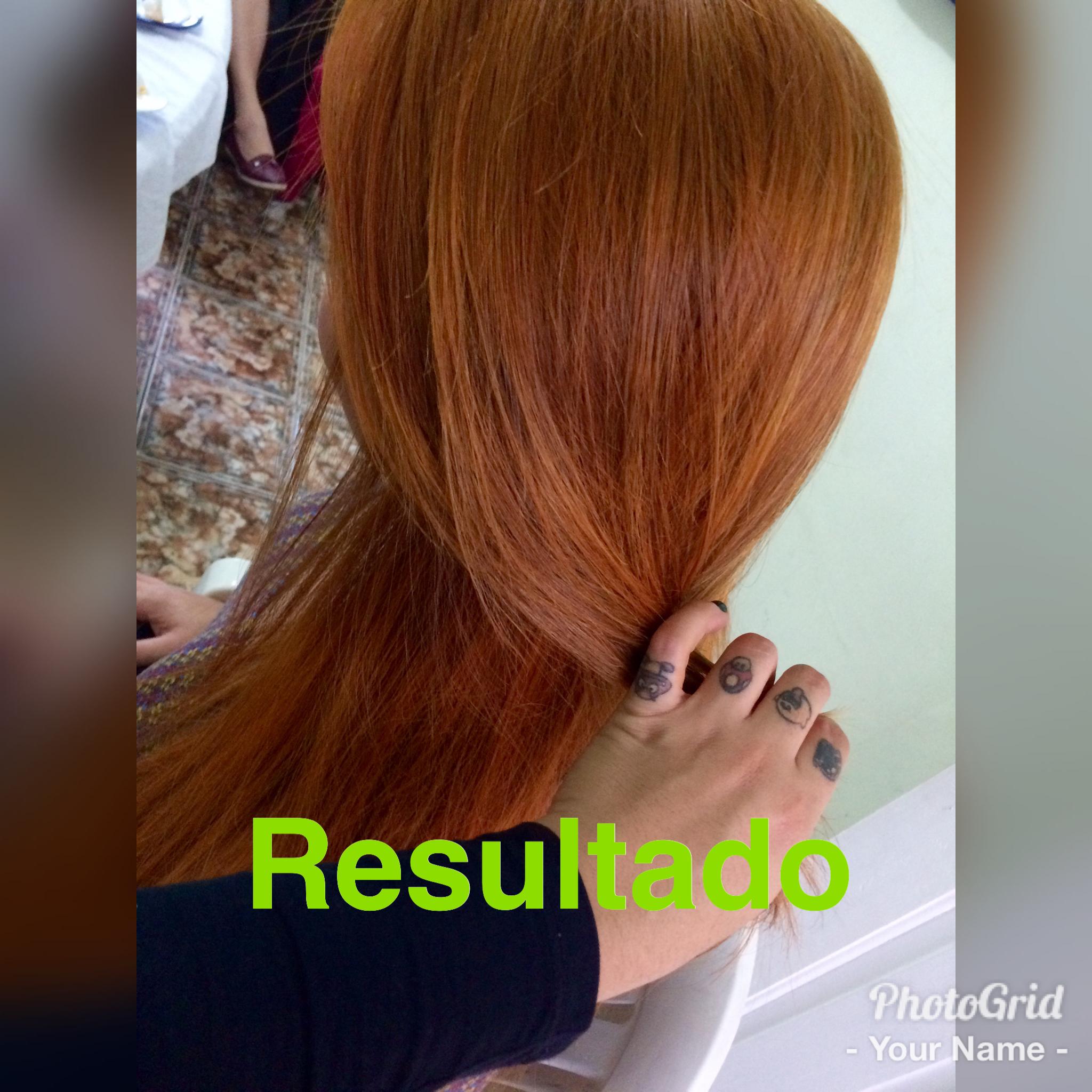 #redhead #ruivos #satisfação  cabelo auxiliar cabeleireiro(a)