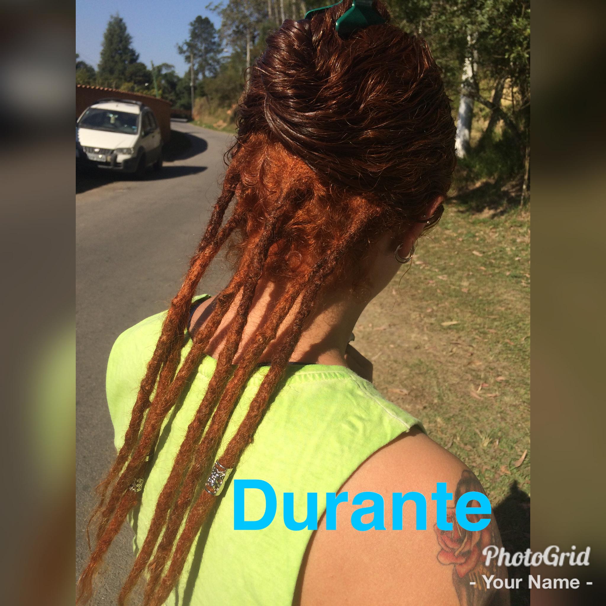 Durante o procedimento! #hair #redhead #dreads #dreadscolorido cabelo auxiliar cabeleireiro(a)
