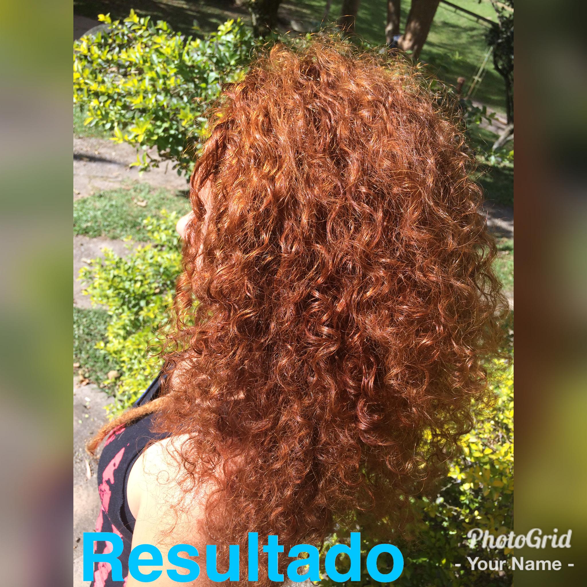 #ruivos #redhead #ruivoscacheados  cabelo auxiliar cabeleireiro(a)