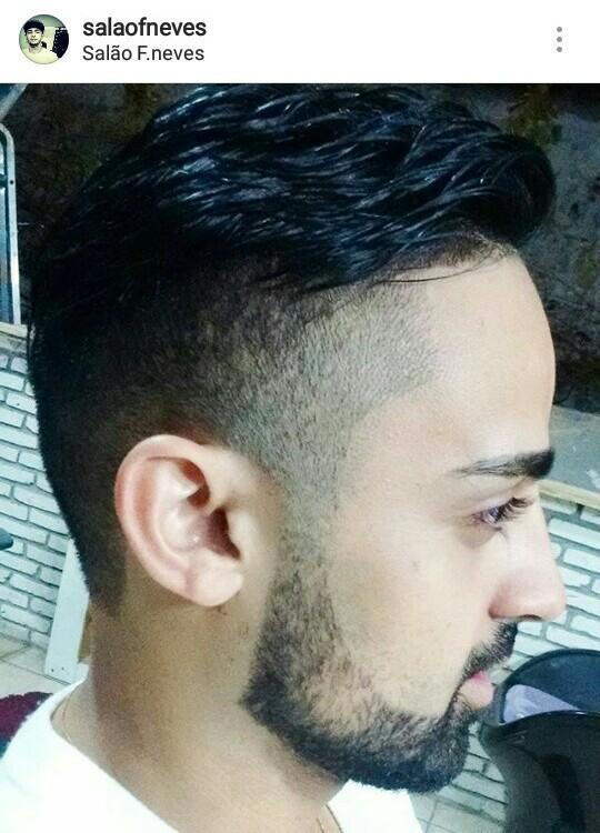 Corte degradê masculino adulto cabelo cabeleireiro(a) barbeiro(a)
