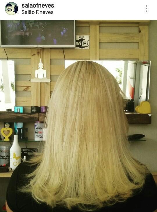 Correção de cor  cabelo cabeleireiro(a) barbeiro(a)