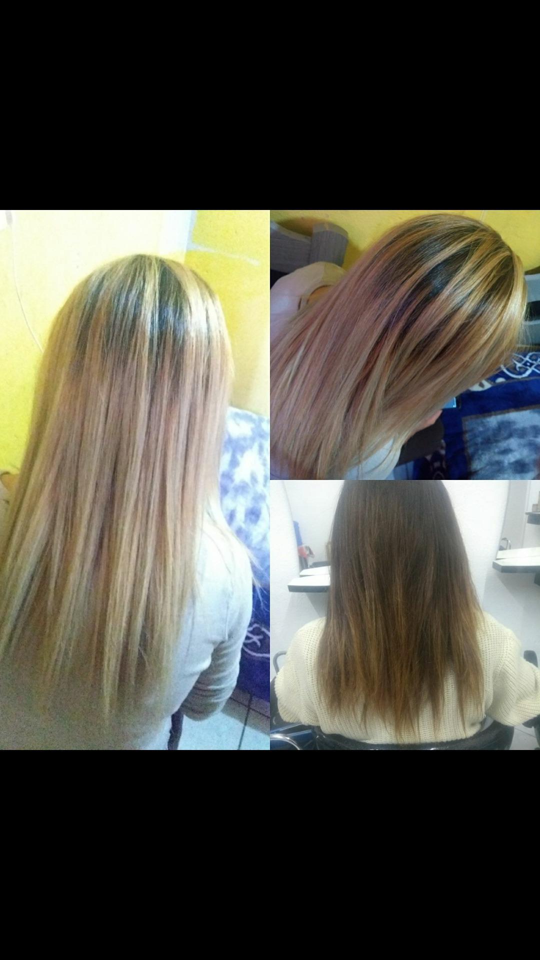 Raiz esfumada cabelo estudante (cabeleireiro) auxiliar cabeleireiro(a)