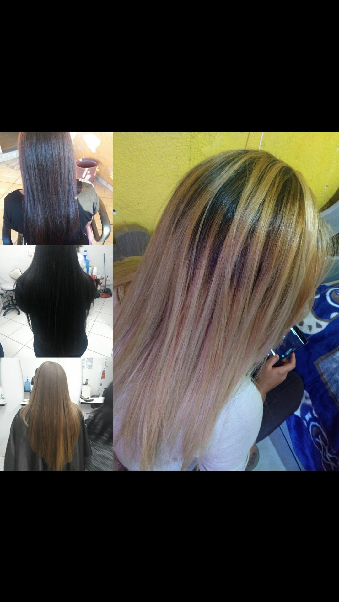 Progressiva/ corte v/ escova cabelo estudante (cabeleireiro) auxiliar cabeleireiro(a)