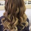 Trabalho de correção de cor + ombre hair