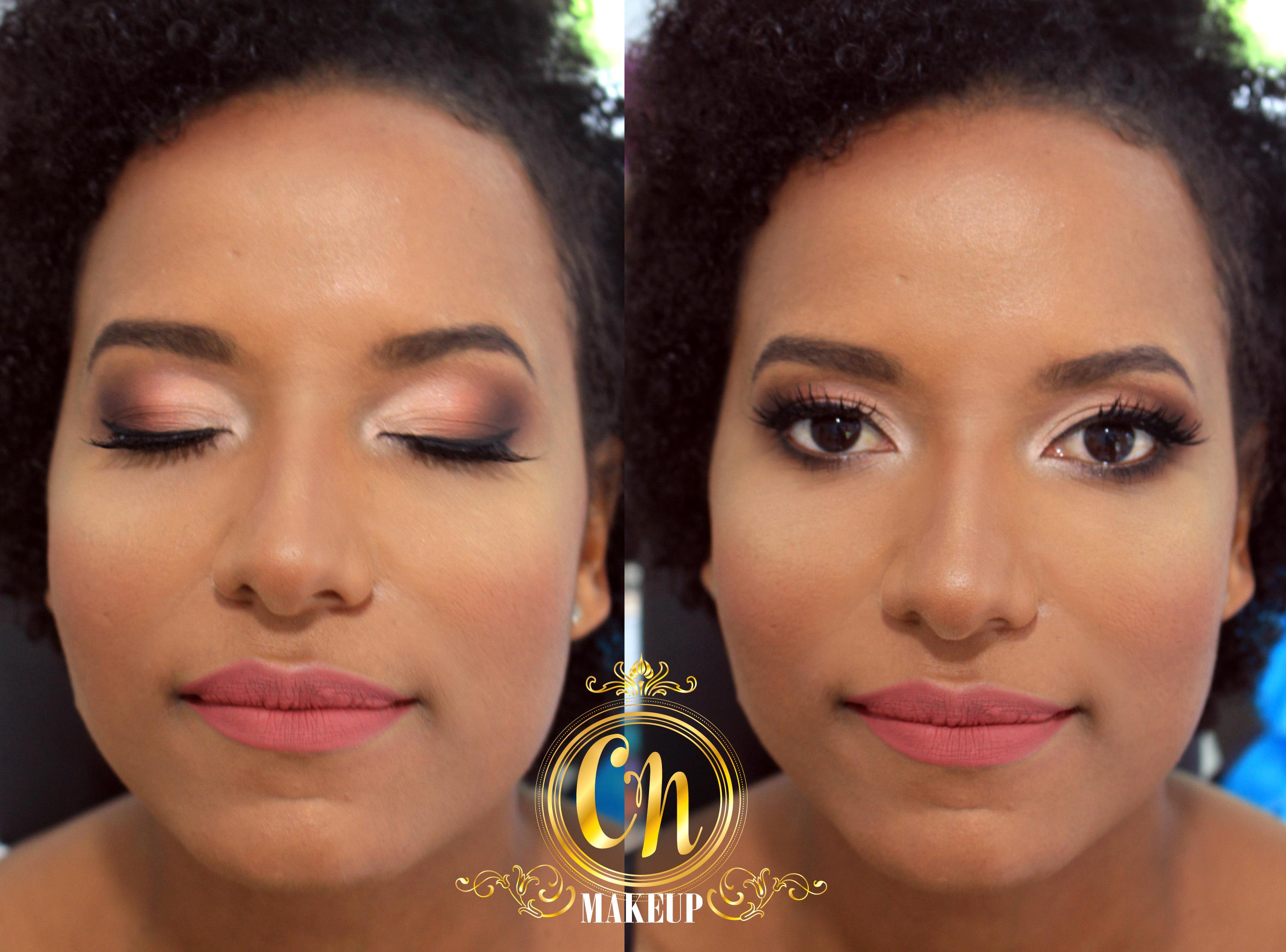 Maquiagem para formanda, tons neutros! Pele negra incrível!  #pelenegra #maquiagem #maquiadoraubatuba #formaturaubatuba #maquiagemformandas maquiagem maquiador(a)