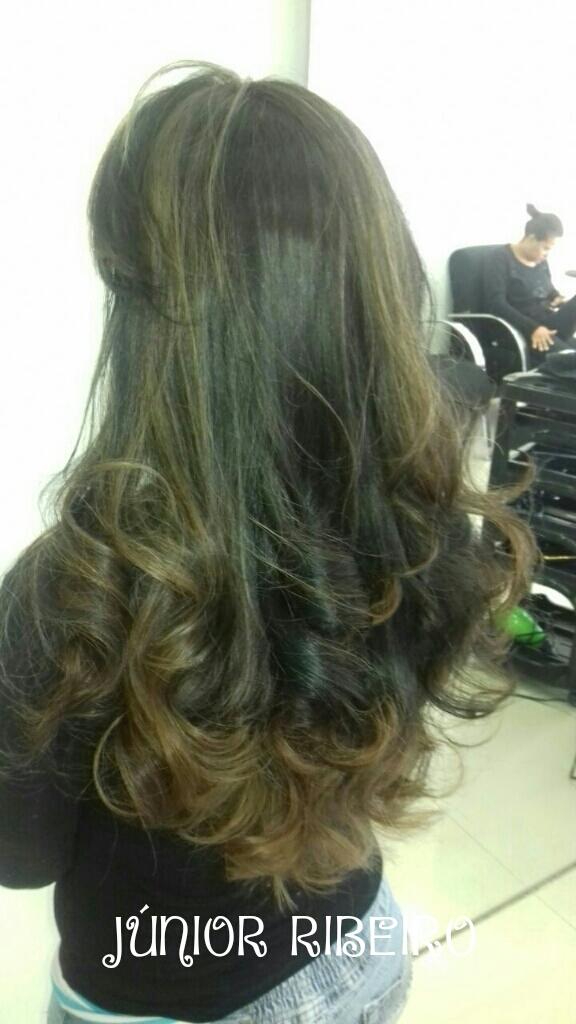 Sombré hair Caramelo cabeleireiro(a) maquiador(a)
