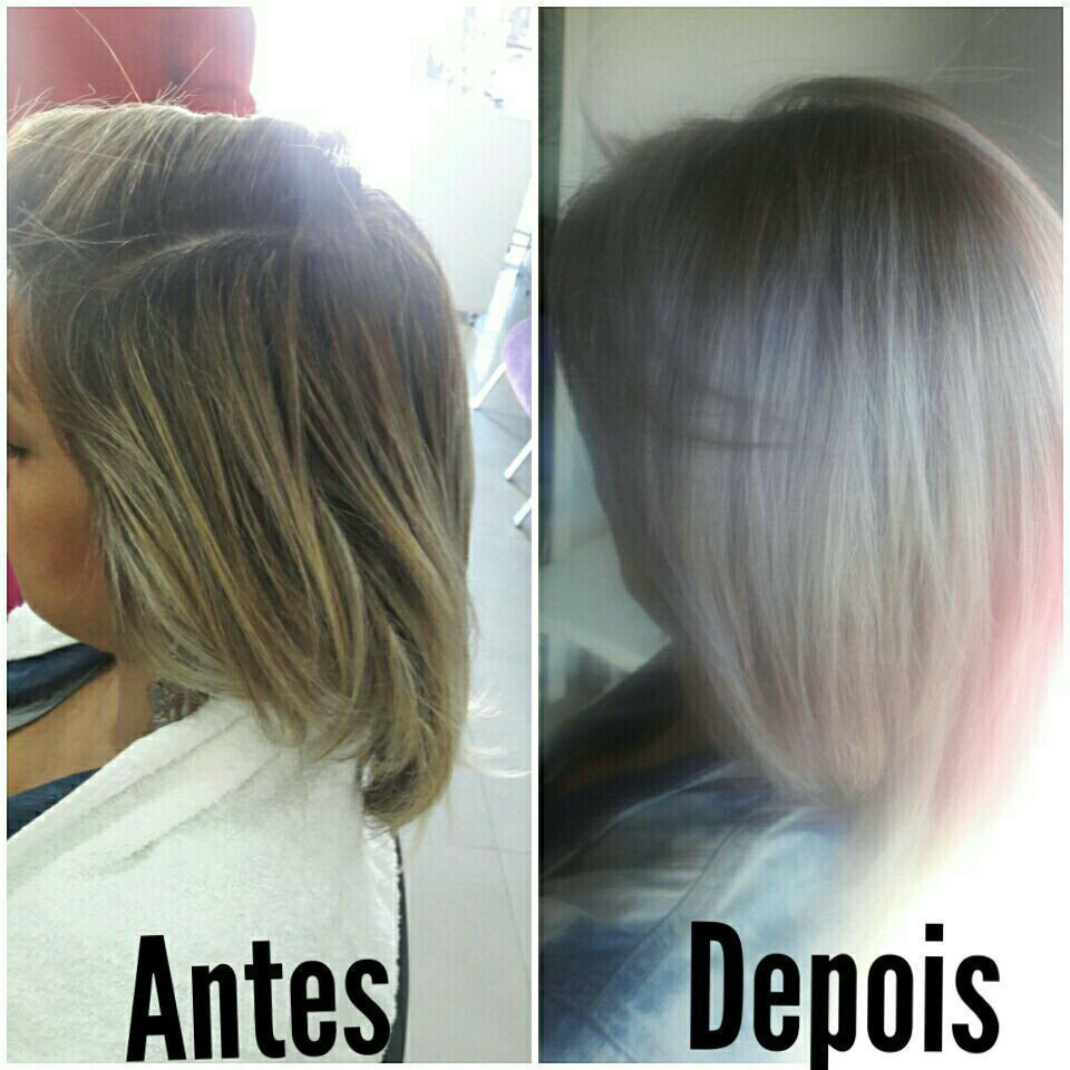 Cabelo Monocromático tendência 2017/2018 Verão. cabeleireiro(a) maquiador(a)