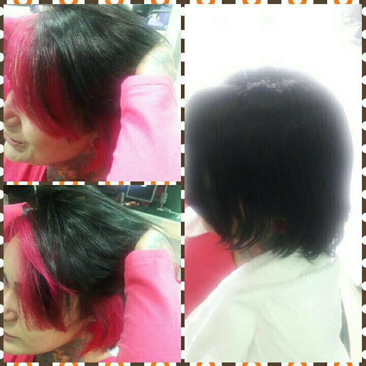 Contour hair Pink cabeleireiro(a) maquiador(a)