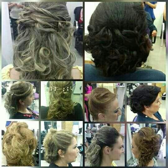 Penteados diversos cabeleireiro(a) maquiador(a)