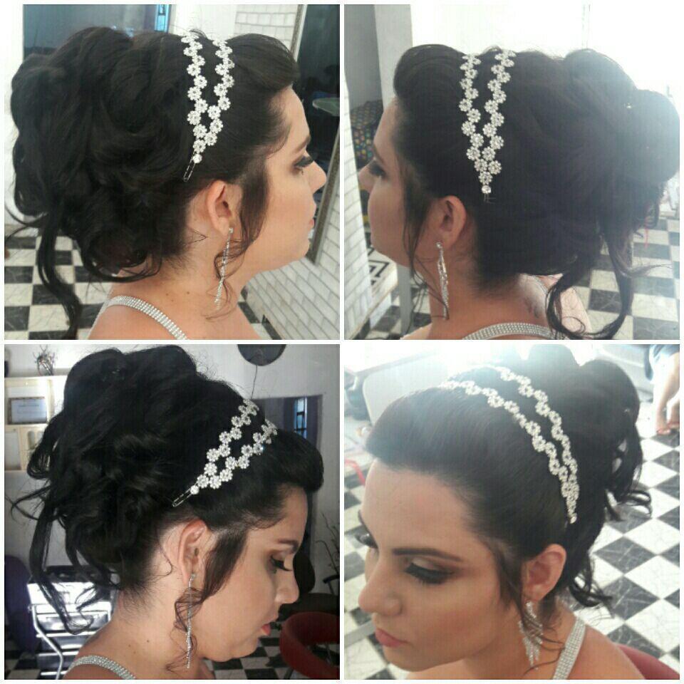 Penteado preso para noivas cabeleireiro(a) maquiador(a)