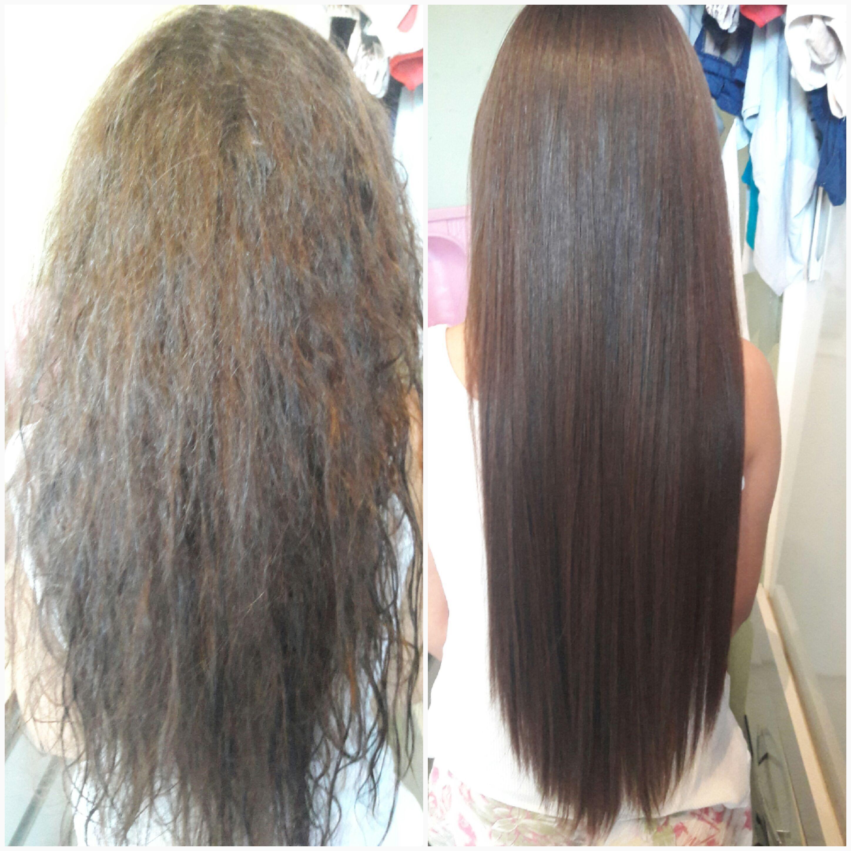 Progressiva #antesedepois cabelo auxiliar cabeleireiro(a)
