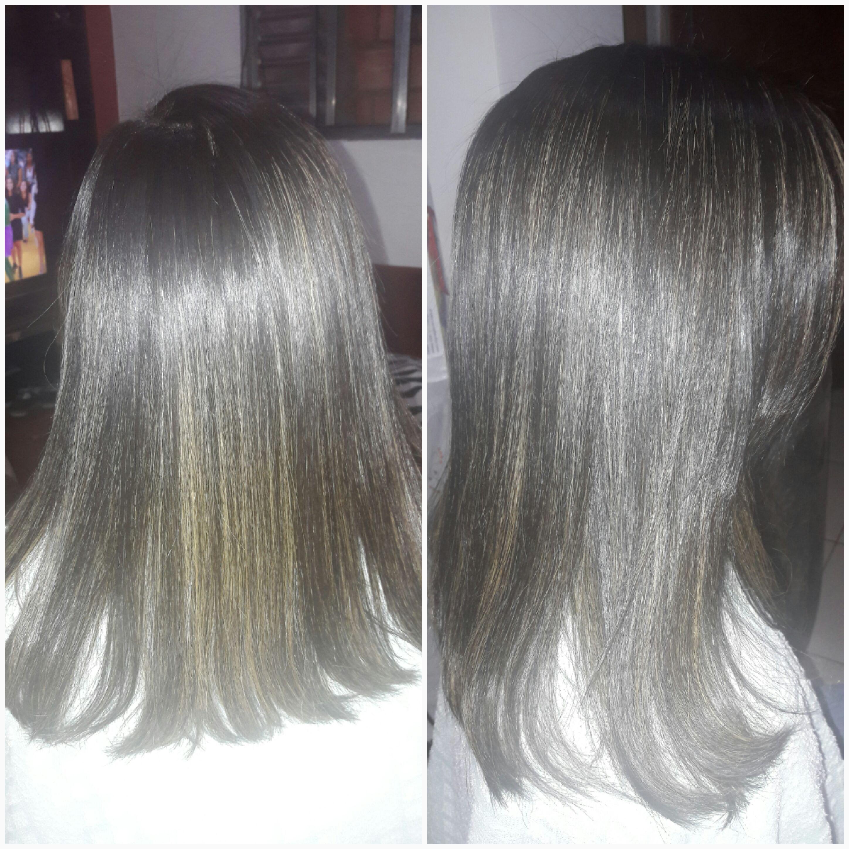 Progressiva e hidratação cabelo auxiliar cabeleireiro(a)