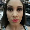 Smokey eyes na bela Leticia.