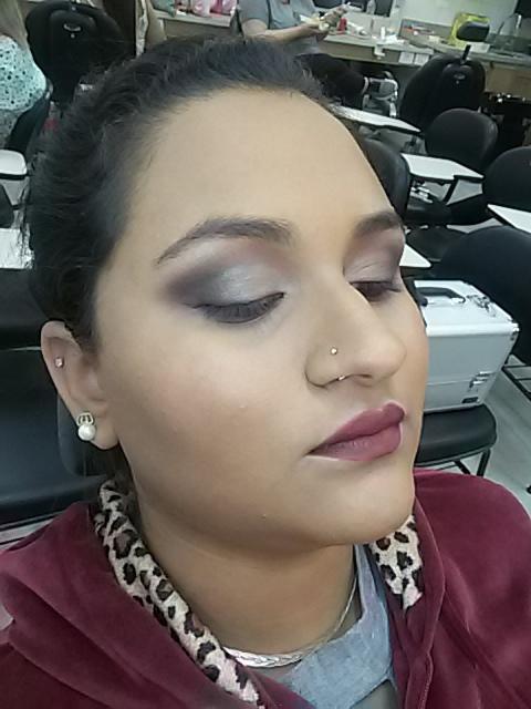 Olhos lindos e pele perfeita na linda Duda !! maquiagem maquiador(a)
