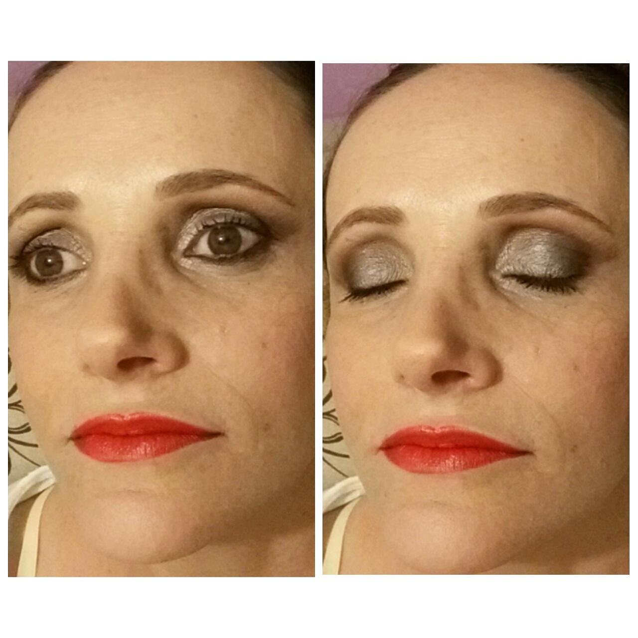 Maquiagem para a linda Silvia, mãe de formanda !! maquiagem maquiador(a)