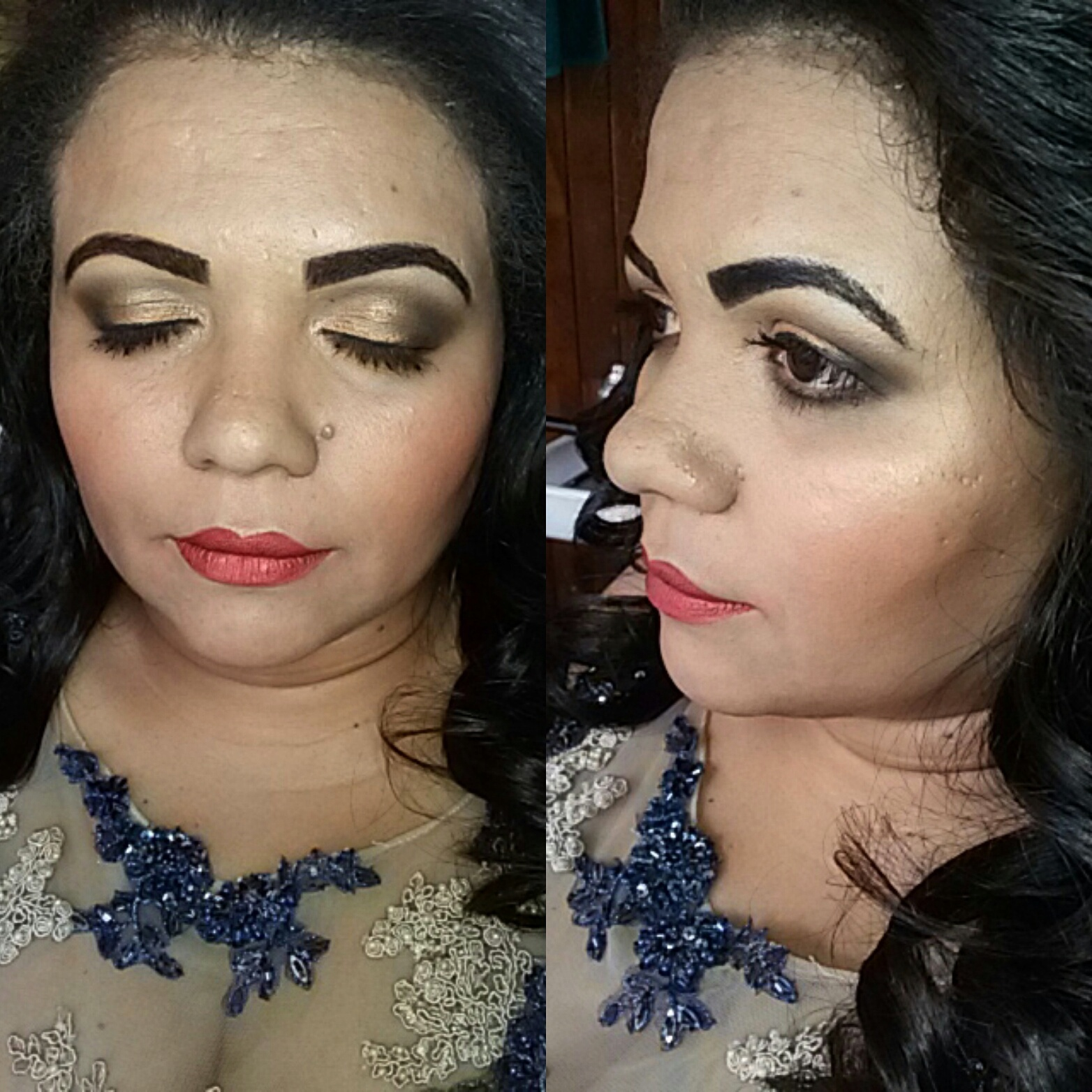 Madrinha de casamento ! Linda como tem que ser !! maquiagem maquiador(a)