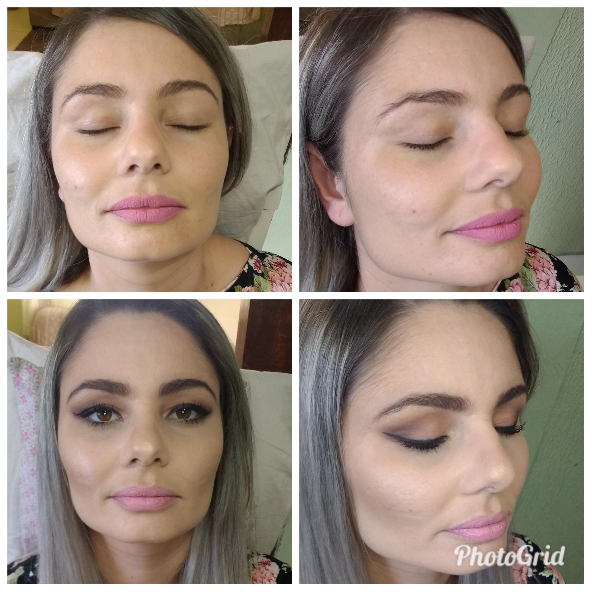 Make romântica maquiagem maquiador(a) vendedor(a)
