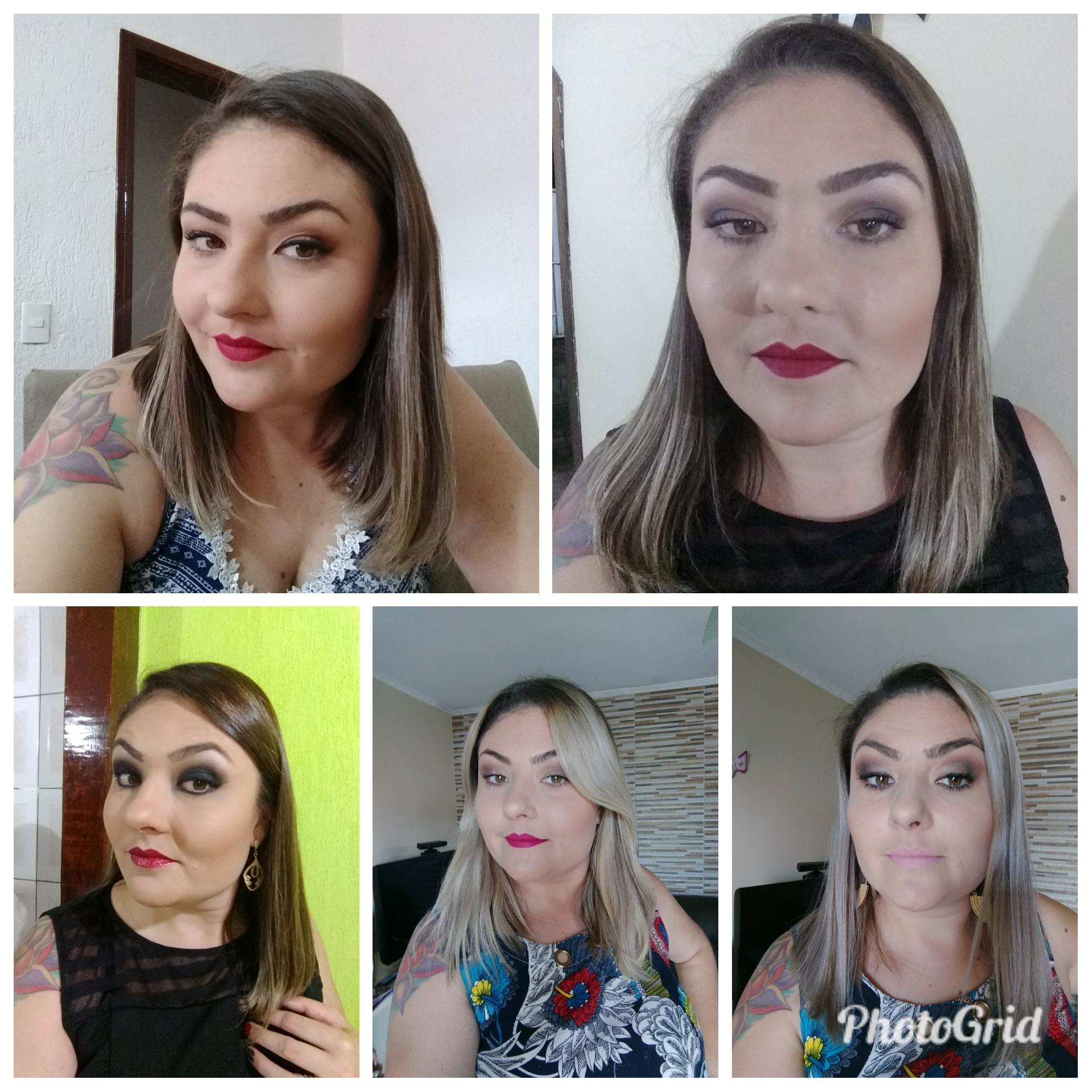 Makes diversas maquiagem maquiador(a) vendedor(a)