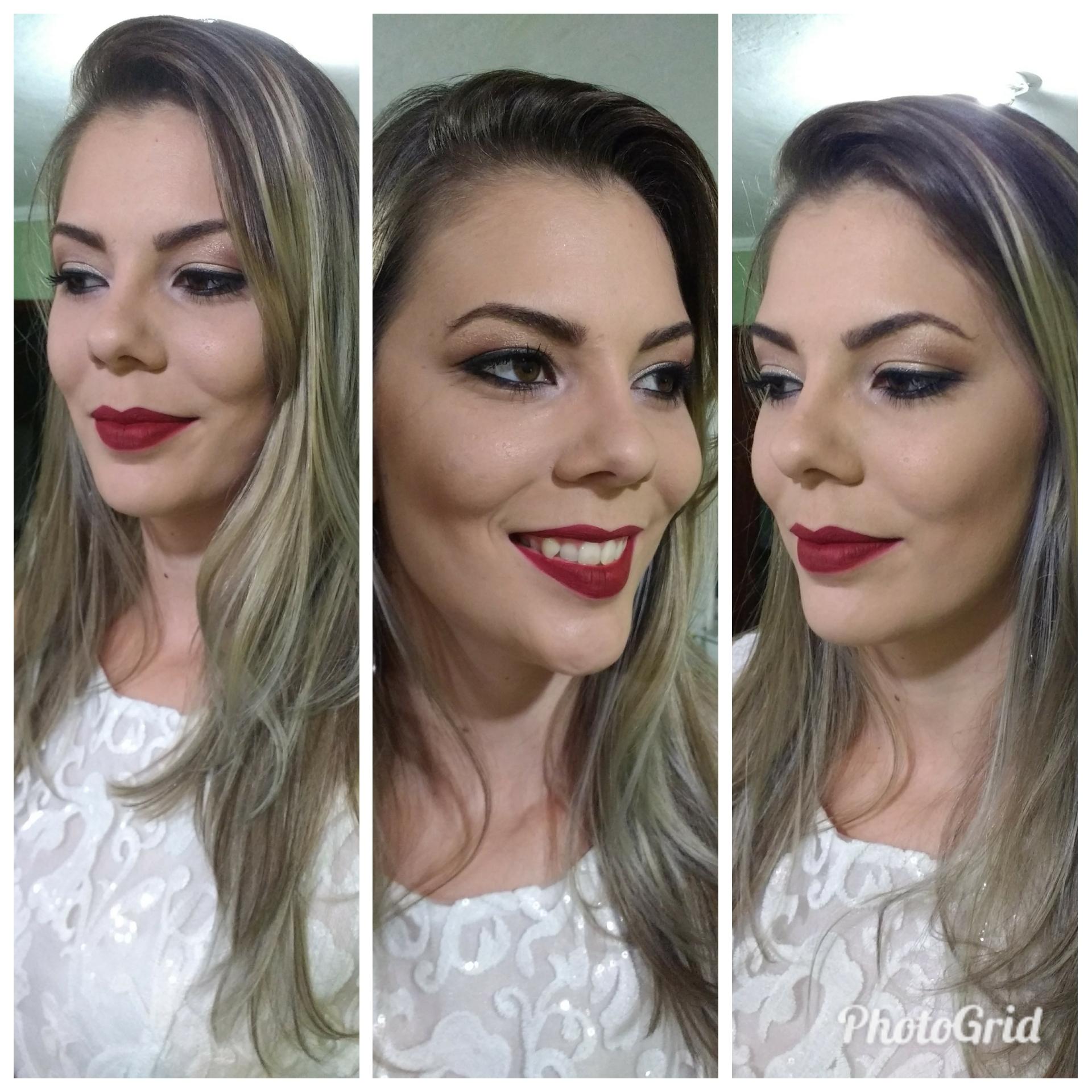 Make clássica maquiagem maquiador(a) vendedor(a)