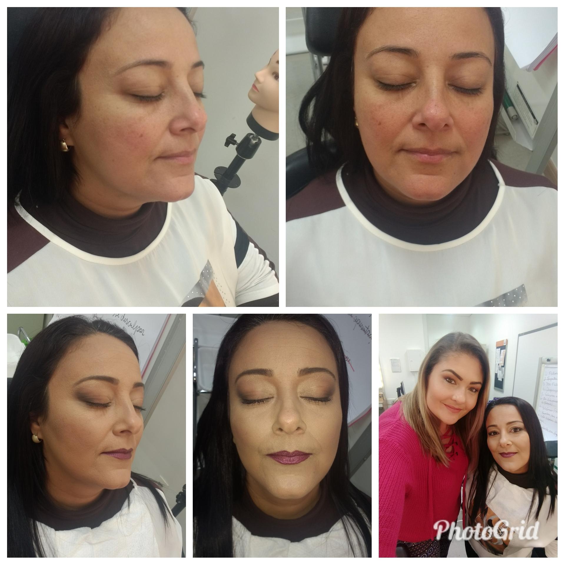Make esfumado diagonal maquiagem maquiador(a) vendedor(a)
