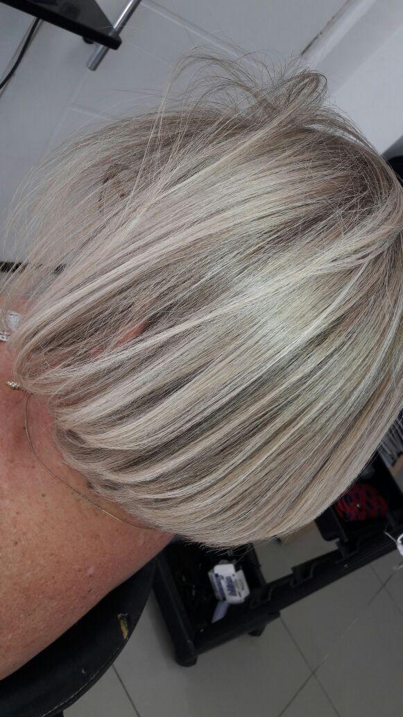 Mechas na touca  cabelo cabeleireiro(a)