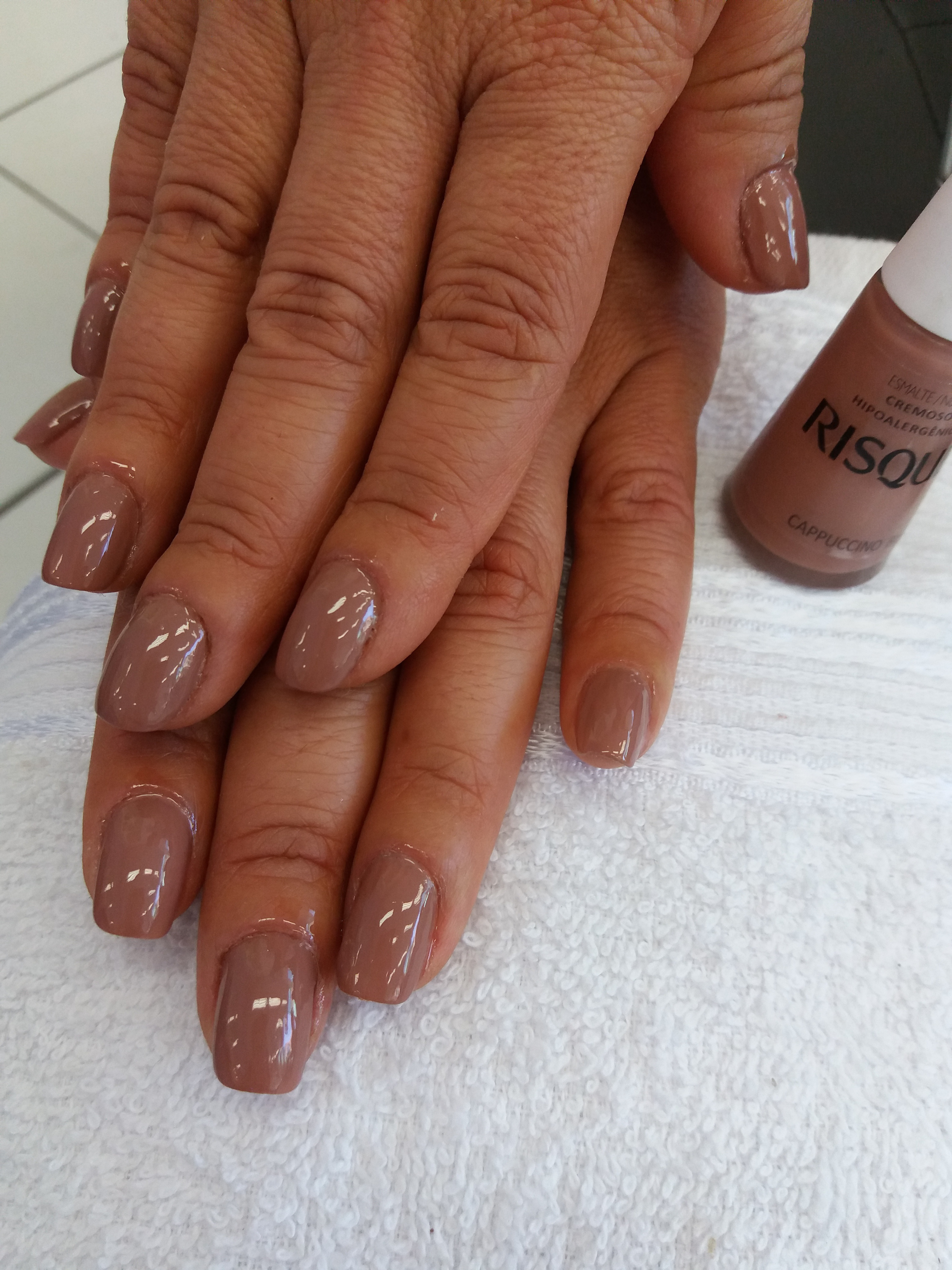 #manicureporamor #risquecapuccino #nails  unha manicure e pedicure