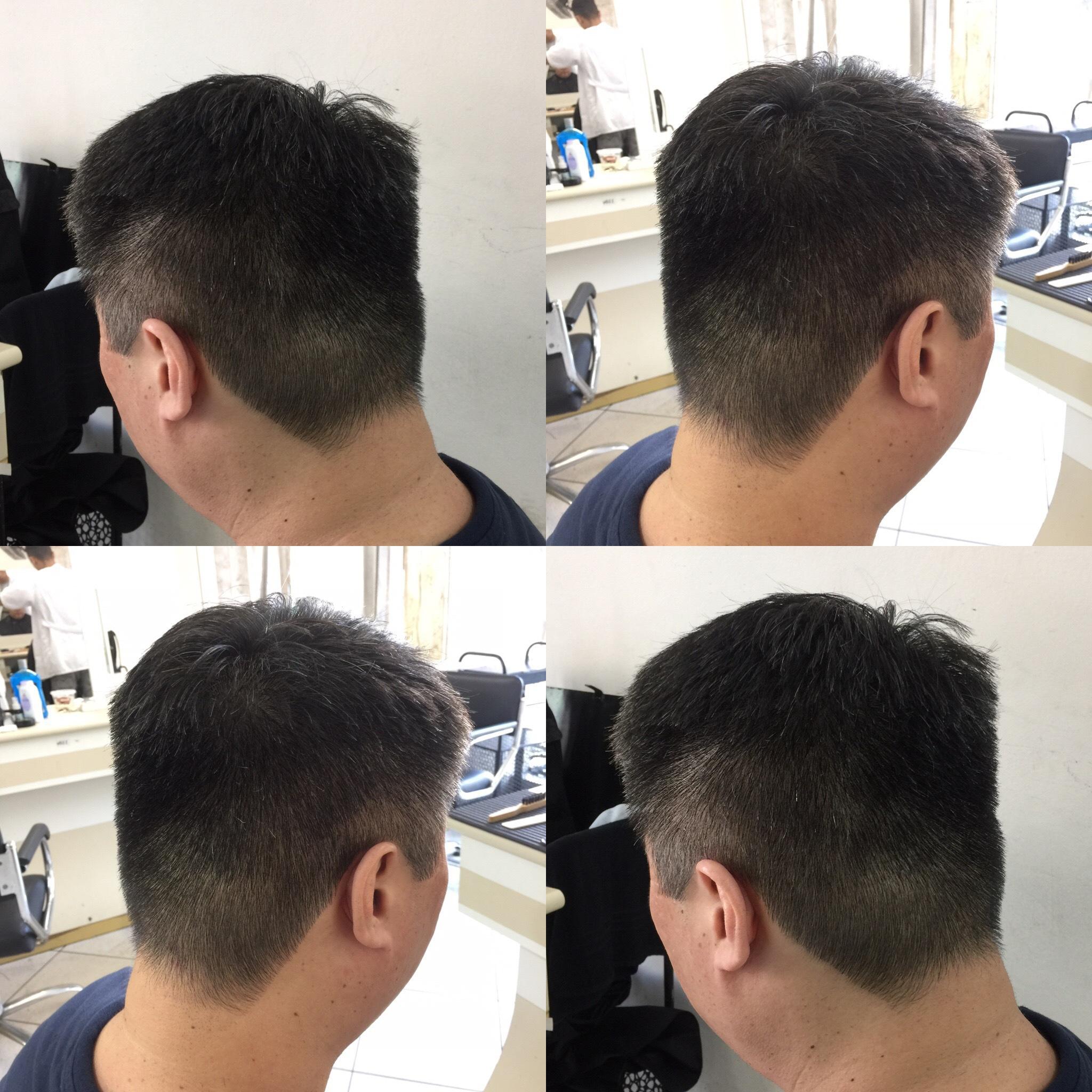 Cabelo coreano. cabelo barbeiro(a)