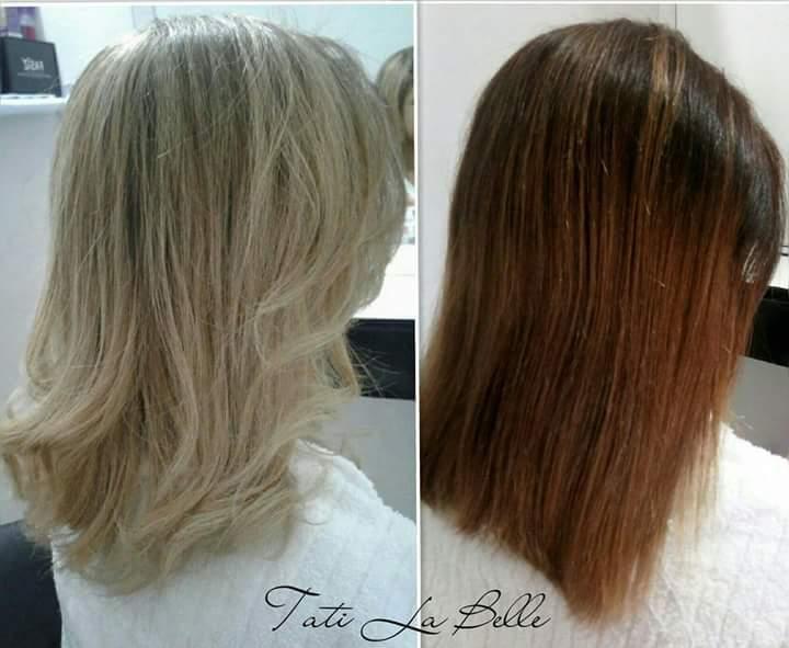 Trabalho realizado: Correção de fundo e Luzes. Cliente:  Calina. #tatilabelle #trabalhandocomamor #arteemcabelo  cabelo cabeleireiro(a) auxiliar cabeleireiro(a) estudante (cabeleireiro)