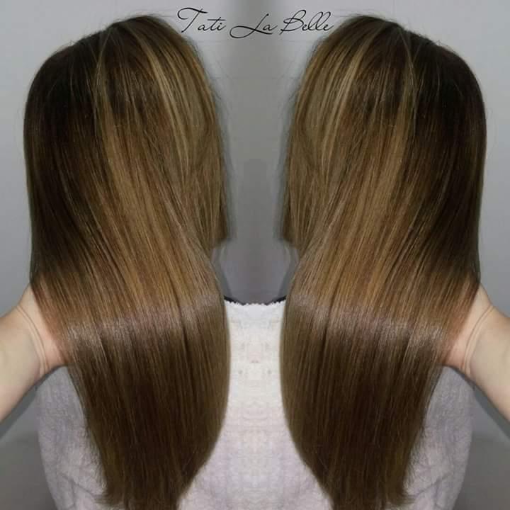 Trabalho realizado:  Retoque da área de crescimento, hidratação e corte. Cliente: Gizelda #tatilabelle #trabalhandocomamor #arteemcabelo  cabelo cabeleireiro(a) auxiliar cabeleireiro(a) estudante (cabeleireiro)