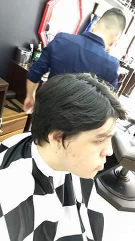 Antes da transformação!  (Primeira Aula pratica)  cabelo barbeiro(a)