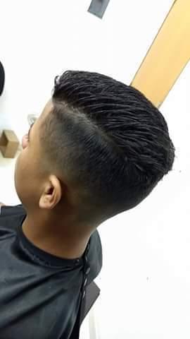 Segunda aula prática! #evoluirsempre cabelo barbeiro(a)